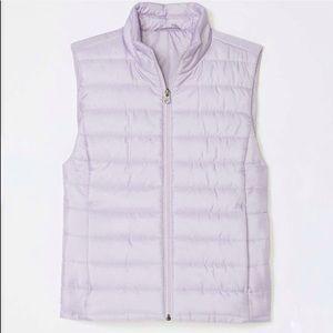 NWOT LOFT Lavender Puffer Vest